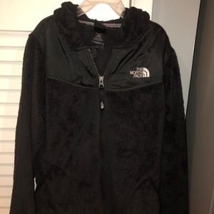 Black girls north face jacket